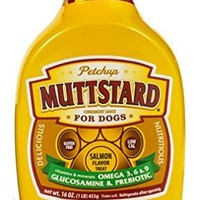 Petchup MUTTSTARD Condiment Sauce for Dogs, 1 lb