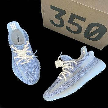 Babysbreath Adidas Yeezy 350 V2 Boots Static Fashion Women Men Casual Sport Gym Shoes