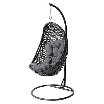 Zenga Hanging Egg Chair by Cornermill