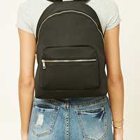 High-Polish Zip Backpack