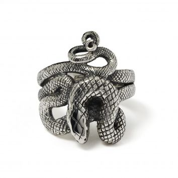 Coiled Snake Ring - The Great Frog London