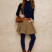 Wool & Alpaca Tweed Skirt - Short Skirts   Skirts - RalphLauren.com