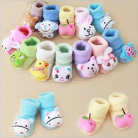 Baby Socks 0-10 Month Cute Air winter