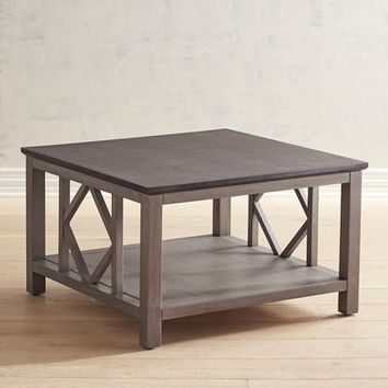 Diamond Tonal Gray Coffee Table