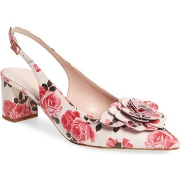 kate spade new york mercer slingback pump (Women) | Nordstrom