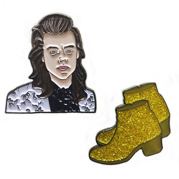 Heart of Gold and Boots to Match Pin Pack
