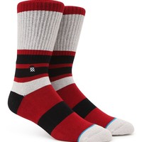 Stance MacMillion Crew Socks - Mens Socks - Red - One