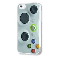 XBOX 360 CONTROLLER IPHONE 4 / 4S / 5 PLASTIC / RUBBER CASE COVER
