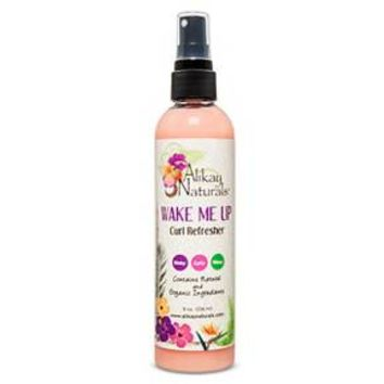 Alikay Naturals Wake me Up Curl Refresher 8 oz : Target