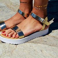 "Leather women Sandal shoes ""Aphrodite"" , summer sandals, leather shoes,gold sandals, white sole, genuine leather sandals"