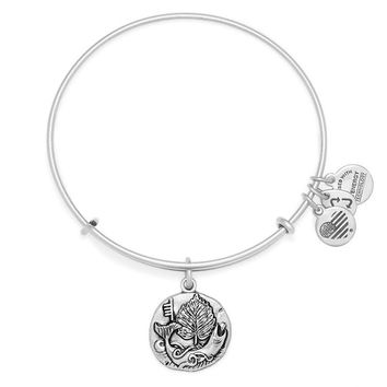 Alex and Ani Hazel Charm Bangle - Rafaelian Silver Finish
