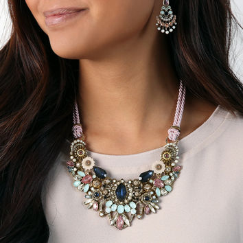 Parisian Belle Convertible Statement Necklace