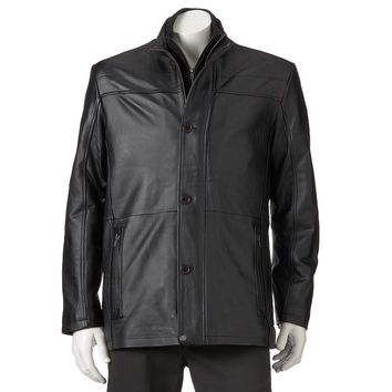 Excelled Leather Car Coat - Men