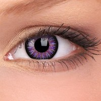 Amazon.com: iColor Complete Contact Lenses - Sweet Violet: Health & Personal Care