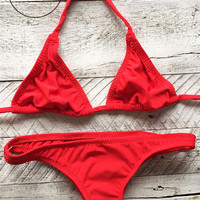 Cheeky Bikini Separates - (more colors)