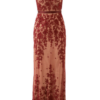 CATHERINE DEANE Red Amira Gown