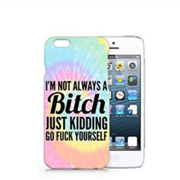 I'm Not Alway A Bitch iphone 6 Case, iphone 6 Case Plastic Hard Case Unique Design-Quindyshop (iphone 6) (iphone 6 case) (NAM54)