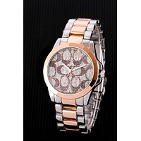 COACH Tide brand men and women models simple versatile watch 5