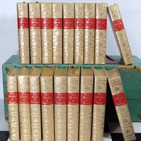 Black's Reader Service Classic Hardback Books . Works of Famous Authors . 18 Volumes . Kipling . Hugo . Bacon