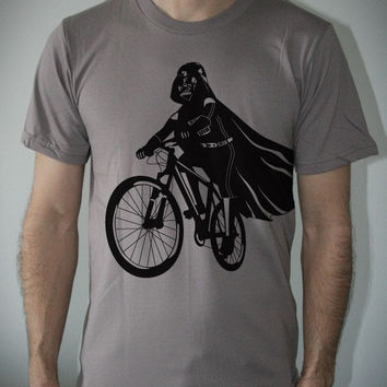 Darth Vader is Riding It Mens t shirt / Unisex t by ironspider