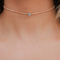 Coasting Along Choker - Gold