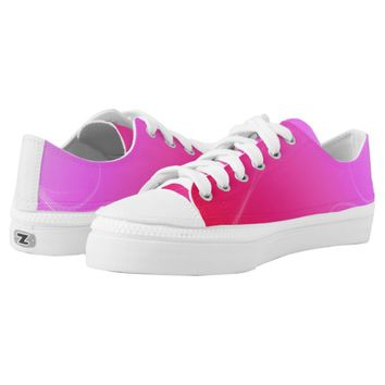 Hot Pink Printed Shoes