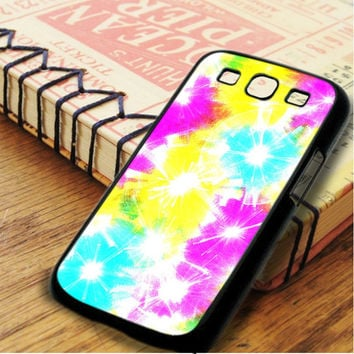 Tie Dye Color Samsung Galaxy S3 Case