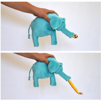 Elephant with Birthday Blower