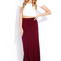 Everyday Jersey Knit Maxi Skirt