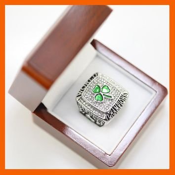 2008 BOSTON CELTICS BASKETBALL WORLD CHAMPIONSHIP RING US SIZE 11