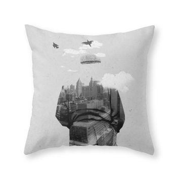 Society6 Get Away From To Throw Pillow