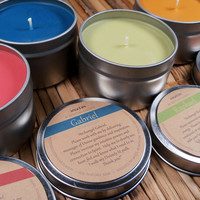 Archangel Candles Set of 4 - Call Upon the Angels for Protection, Healing, Inspiration & Guidance