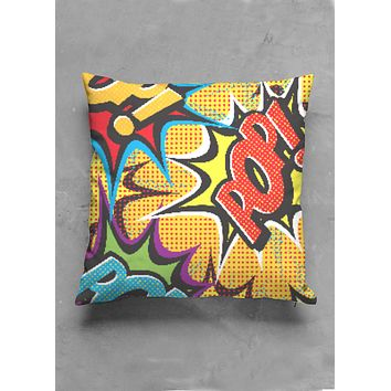 COMIC POP ART CUSHION