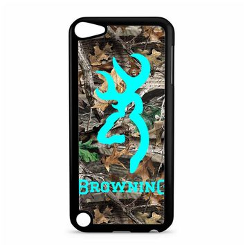 Mint Deer Camo Browning iPod Touch 5 Case