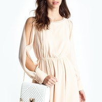 Gabrielle Cold Shoulder Dress