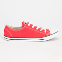 Converse Chuck Taylor All Star Dainty Womens Shoes Red  In Sizes