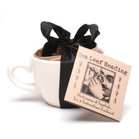 Tea Leaf Reading Kit with a Tea Cup