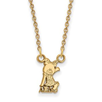 14K Plated Silver Alpha Xi Delta XS Necklace