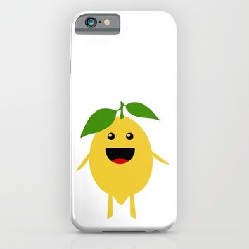 MR LEMON WELL HUNG iPhone & iPod Case by deificus Art