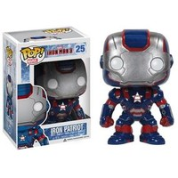 Iron Man 3: Pop! Vinyl Figure: Iron Patriot