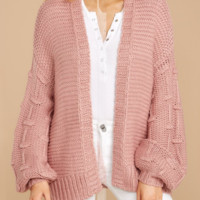 Explosive sweater women's autumn and winter solid color loose cardigan large size sweater