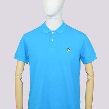 Penfield Norco Polo Shirt in Vivid Blue