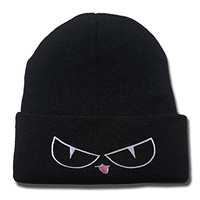 ZZZB Ouran High School Host Club Beelzenef Fleece Logo Beanie Fashion Unisex Embroidery Beanies Skullies Knitted Hats Skull Caps