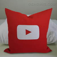 U Tube Case, Pillow Cover, Custom Pillow Case
