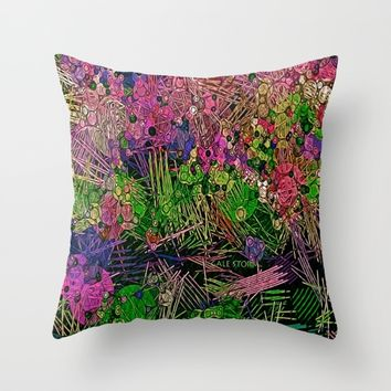:: Paradise :: Throw Pillow by :: GaleStorm Artworks ::