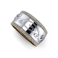 Women's Diamond Band .95 CTW
