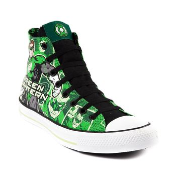 Converse All Star Hi Green Lantern Athletic Shoe, Green | Journeys Shoes