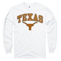 Texas Longhorns White Perennial II Long Sleeve T-Shirt