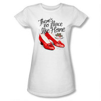 Wizard of Oz Ruby Slippers 75th Anniversary Women