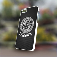 Versace Logo - Personalized Case for iPhone 4/4s, 5, 5s, 5c, Samsung S3, S4, S3, S4 mini Pastic and Rubber Case.
